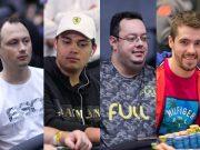 Leocir Carneiro, Belarmino Souza, Geraldo Cesar e Dalton Hobold ocupam as primeiras colocações