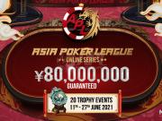 Asia Poker League volta a ser atração do Natural8 em junho