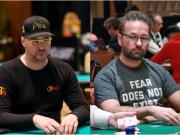 Phil Hellmuth e Daniel Negreanu se encontram novamente para o terceiro duelo