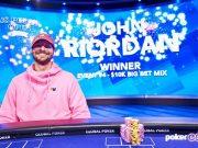 John Riordan voltou a ser campeão em grande estilo (Foto: PokerGO)