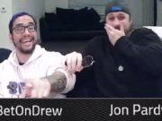 Drew Gonzalez e Jon Pardy ficaram malucos com o showdown