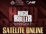 Unique Poker terá cinco vagas para o High Roller entregues em satélite no UPoker
