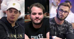 Belarmino Souza, Luciano Hollanda e Pedro Garagnani ficaram perto do título no Natural8