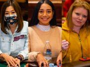 Kitty Kuo, Daniela Rodriguez e Kyna England estão na decisão