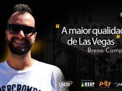 Breno Campelo é fã do clima desértico de Las Vegas