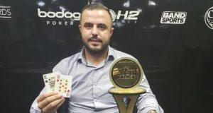Rafael Mota puxa a fila de classificados no BSOP Online