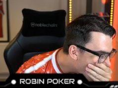 """""""RobinPoker"""" recebeu """"presentão"""" no retorno ao poker"""