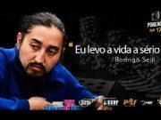 Rodrigo Seiji falou como a dedicação é importante para ele no poker e na vida