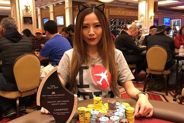 Sasha Liu tomou o stack de um jogador e recebeu mensagem inaceitável