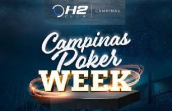 Poker Week agita H2 Club Campinas a partir desta sexta (13)
