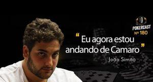 João Simão falou sobre atividades recentes no Pokercast 180