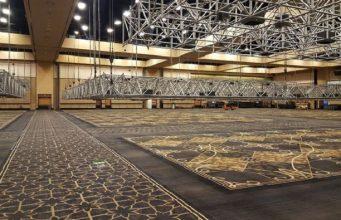 Salão do Rio All-Suite Hotel & Casino em desmontagem após a WSOP