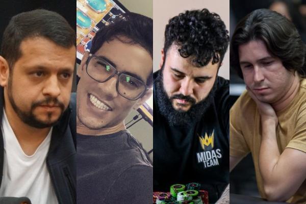 Mauricio Mosna, Marcelo Valadão, Emmanuel de Castro e Dennys Ramos estão entre os classificados