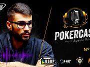 Eduardo Rodrigues participou do episódio 184 do Pokercast