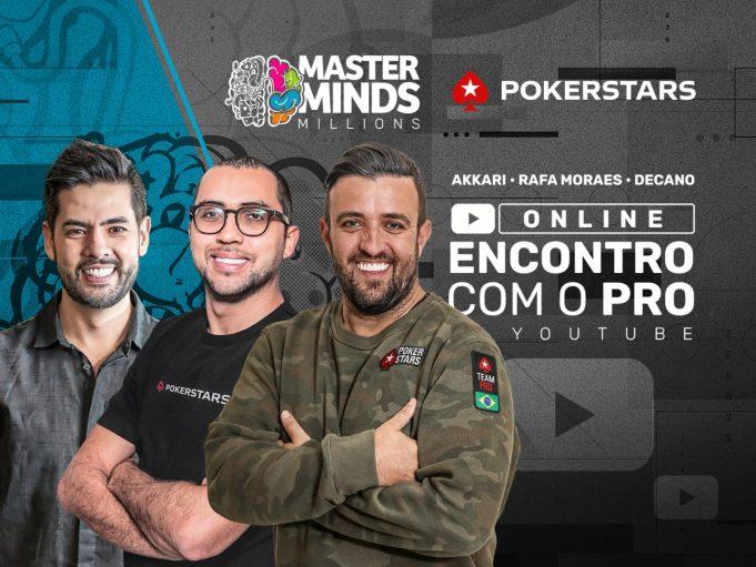 MasterMinds 14 receberá trio de craques como palestrantes