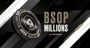 BSOP Millions está de volta e tem até logo novo