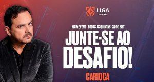 Carioca faz última live da Liga partypoker nesta quinta (30)
