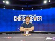 Chris Brewer terminou no topo do Evento #8 do Poker Masters (Foto: PokerGO)