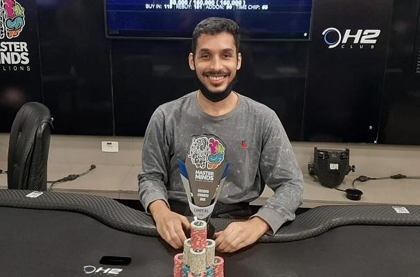 Dêrso Souza levou o troféu para Salvador