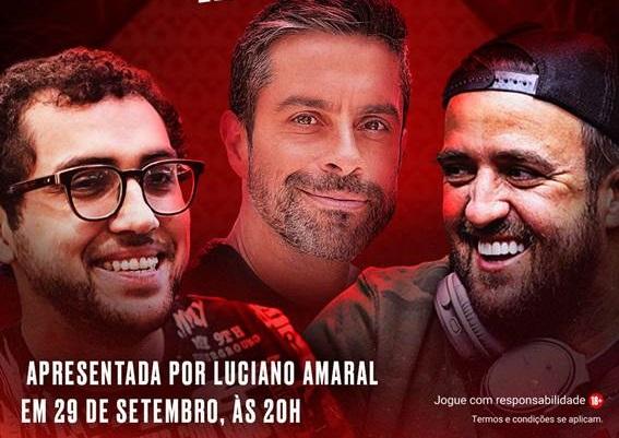 Luciano Amaral, Rafael Moraes e André Akkari estarão juntos nesta quarta (29)