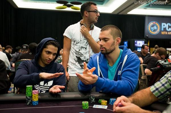 Pedra, Papel ou Tesoura no maior evento de poker do mundo? Já aconteceu