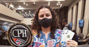 Adriana Tavares levou o título do Ladies Event do CPH