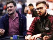 Thiago Grigoletti e Lucas Rocha garantiram a cravada no PokerStars