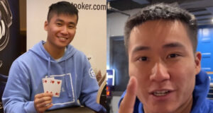 Ethan Yau faz vlogs de cash game, mas forra também nos torneios