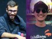 Eduardo Rodrigues e Mateus Thomaz fizeram o heads-up do torneio