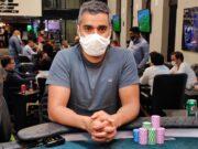Leandro Gomes começará a mesa final do Main Event do CPH em vantagem
