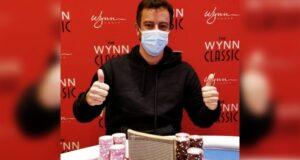 Paulo Gini chegou em Vegas já cravando no Wynn