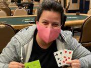 Ana Freitas foi campeã na WSOP em Las Vegas