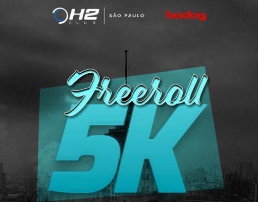 Freeroll de 5K volta a ser atração no H2 Club