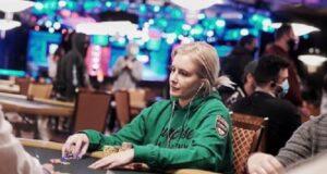 Vanessa Kade não gostou de jogar short handed na WSOP (Foto: Gustavo Bô)