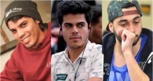 Ricardo Nascimento, Lucas Frazão e Bruno Carbonera estarão no BSOP Millions